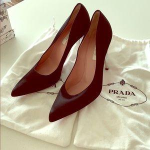 Vintage Prada heels.